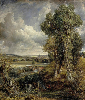 British Painting - The Vale Of Dedham by John Constable