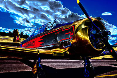 The Vintage North American T-6 Texan Print by David Patterson