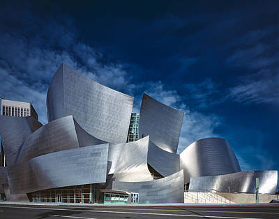 The Walt Disney Concert Hall Print by Mountain Dreams