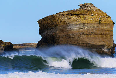 Photograph - The Wave by Thierry Bouriat