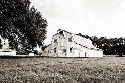 Photograph - The White Barn by Scott Pellegrin