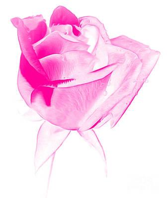 Flower Design Photograph - Think Of Me by Krissy Katsimbras