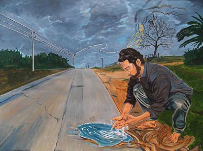 Painting - Those Moments...mine by Lazaro Hurtado