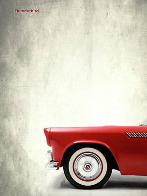 Ford Photograph - Thunderbird by Mark Rogan