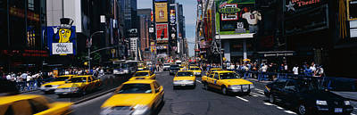Times Square Photograph - Times Square New York Ny by Panoramic Images