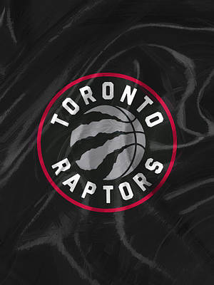 Toronto Raptors Print by Afterdarkness
