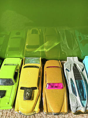 Toy Cars Print by Tom Gowanlock