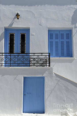 Traditional Architecture House Print by George Atsametakis