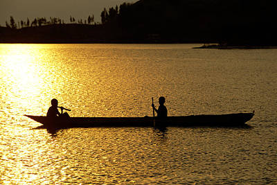 Dugout Photograph - Traditional Boat by Tony Camacho