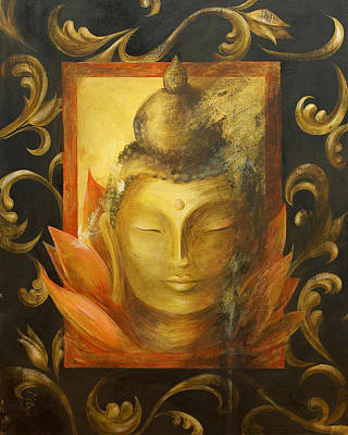 Buddhist Painting - Transcendence by Dina Dargo