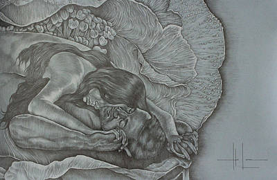 Filipino Drawing - Transcending Love by Hari Lualhati