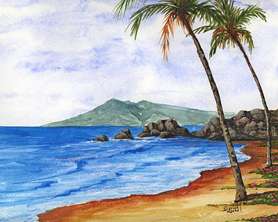 Palm Trees Painting - Tropical Dream by Darice Machel McGuire