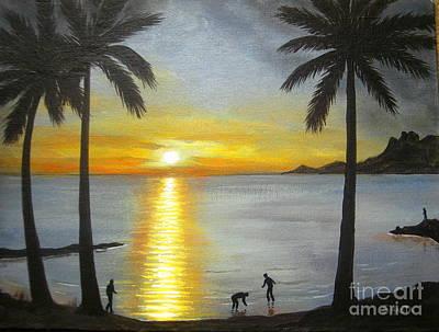 Tropical Splendor Print by Shasta Eone