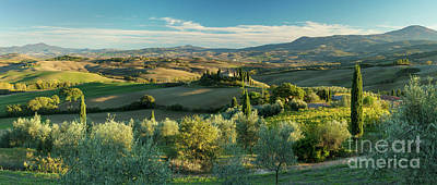 Tuscan Countryside Print by Brian Jannsen