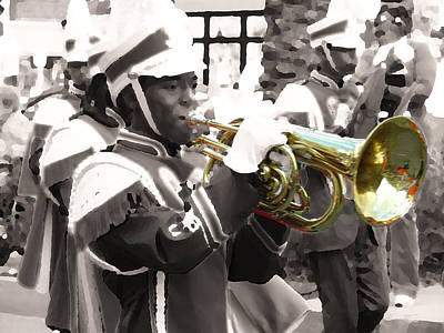 Marching Band Photograph - Tusk by William Fields