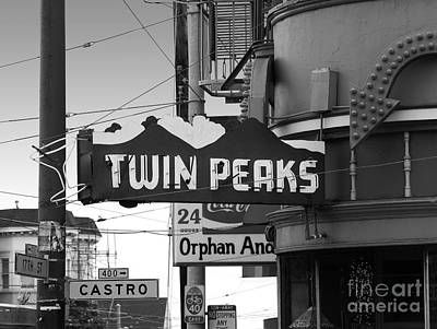 Bisexual Photograph - 1 Twin Peaks Bar In San Francisco by Wingsdomain Art and Photography
