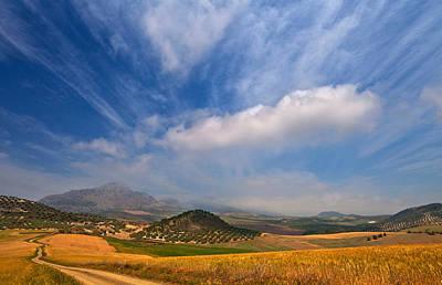 Twisty Road, Near Casabermeja, Malaga Print by Panoramic Images