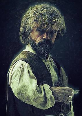 Lannister Digital Art - Tyrion Lannister by Semih Yurdabak