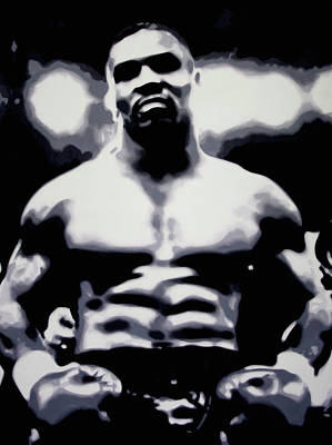 Tyson Print by Luis Ludzska