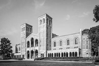 University Of California Photograph - University Of California Los Angeles Royce Hall by University Icons