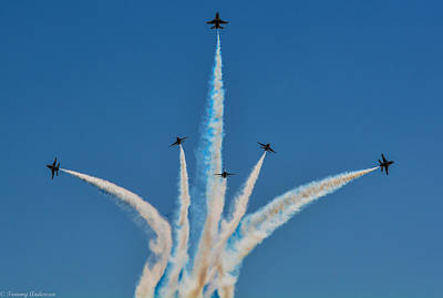 Photograph - Usaf Thunderbirds Media Day 2 by Tommy Anderson