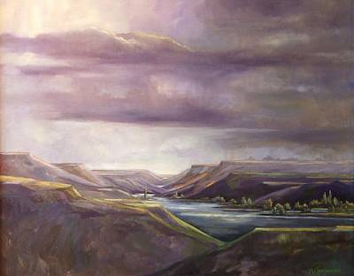 Lansdcape Painting - Vantage Vista by Ruth Stromswold