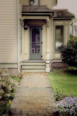 Victorian Porch Print by Jill Battaglia
