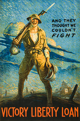 Victory Liberty Loan Print by David Letts