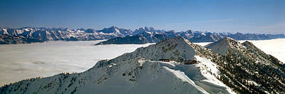 Cold Temperature Photograph - View Of The Kicking Horse Resort by Panoramic Images
