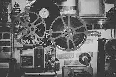 Tape Player Photograph - Vintage Reel To Reel by Mountain Dreams