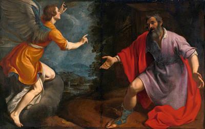 Vision Painting - Vision Of The Centurion Cornelius by Zanobi Rosi