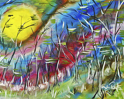 Painting - Walk In The Woods  by Joseph Palotas