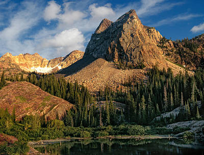 Blanche Photograph - Wasatch Mountains by Utah Images