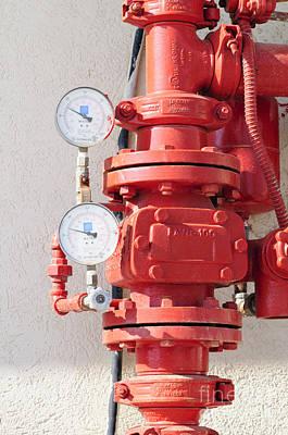 Water Pressure Gauge  Print by Ilan Rosen