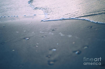 Riffle Photograph - Water Ripples  by Daya Tom