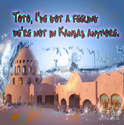 we are not in Kansas anymore Print by Humorous Quotes