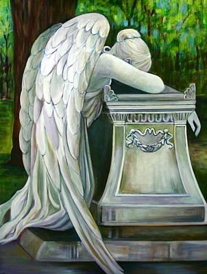 Wetmore Painting - Weeping Angel by Susan Santiago