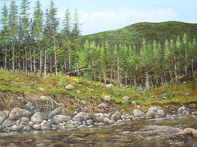 Painting - West River by Ken Ahlering