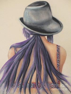 Sadness Painting - What Lies Ahead Series   by Chrisann Ellis
