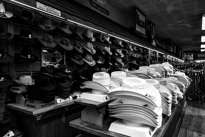 Where Cowboys Shop Print by Mountain Dreams