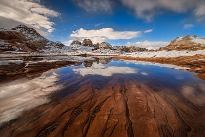 Dustin Photograph - White Pocket Northern Arizona by Larry Marshall