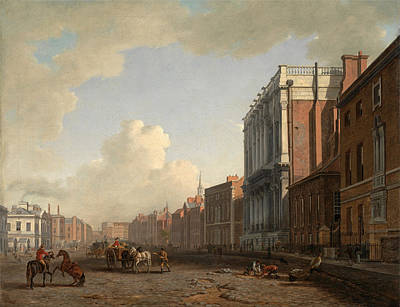 William Marlow Painting - Whitehall by William Marlow