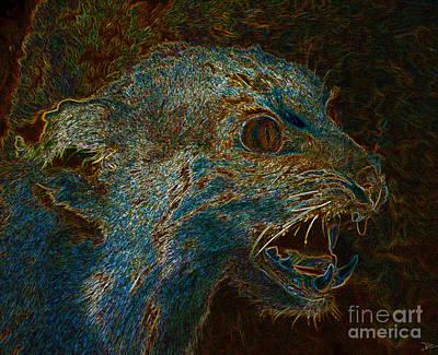 Wildcat Print by David Lee Thompson