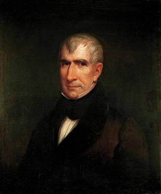 James Reid Lambdin Painting - William Henry Harrison by James Reid Lambdin