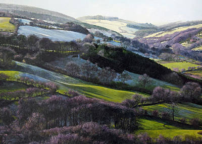 Painting - Winter In North Wales by Harry Robertson