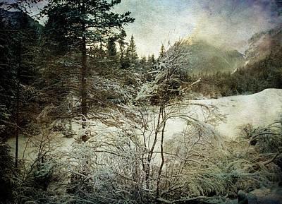 Winter Mood Print by Vittorio Chiampan