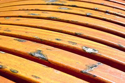 Wood Panels Print by Tom Gowanlock