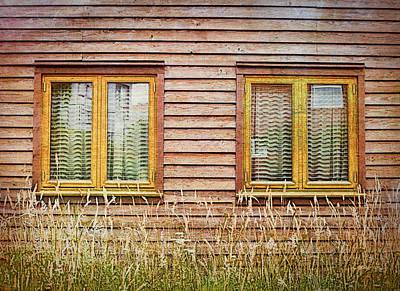 Wooden Hut Print by Tom Gowanlock