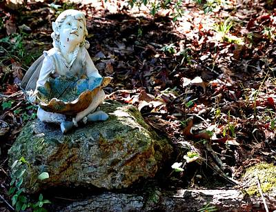 Woodland Fairy Print by Sharon Blanchard