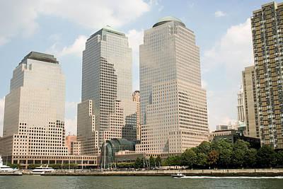 New York City Photograph - World Trade Center Empty Sky by Erin Cadigan